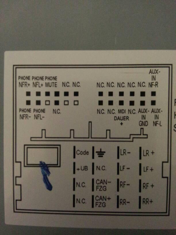 甲壳虫车载cd机接线图?