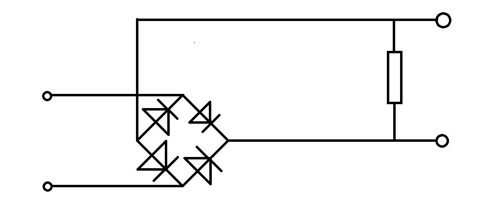 我想做一个整流电路,输入是220v交流电,输出是24v直流