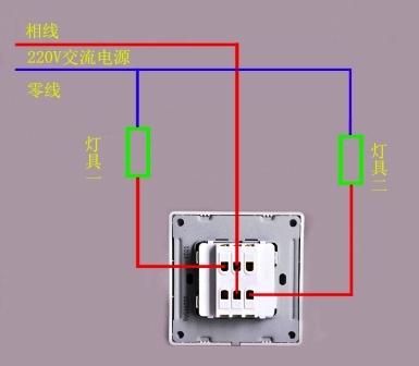 展开全部 完全可以,用不着担心买错了,6个接线端子是作为双联双控用