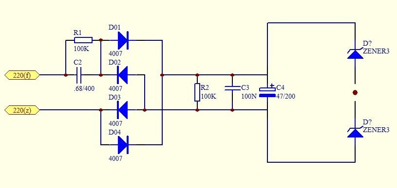求一个简易电路220v输入转72v直流电源,小电流(50ma)即可