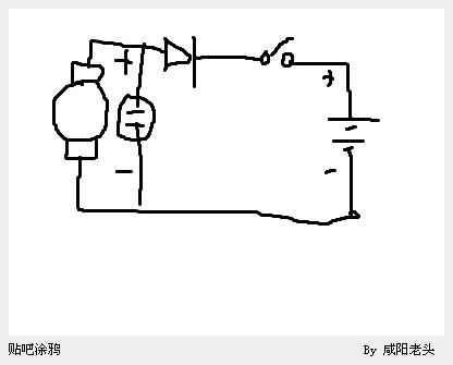12伏发电机给电瓶充电,线路怎么接