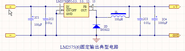 dc/dc开关电源:lm2576 -12
