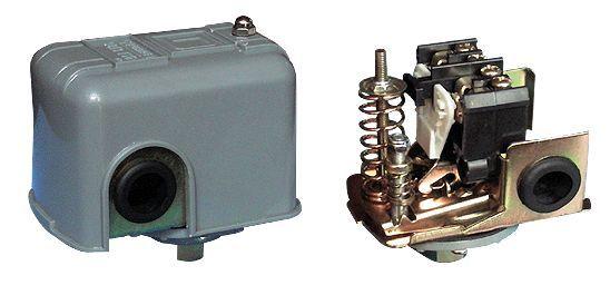 家用220v小水泵压力开关接线图.