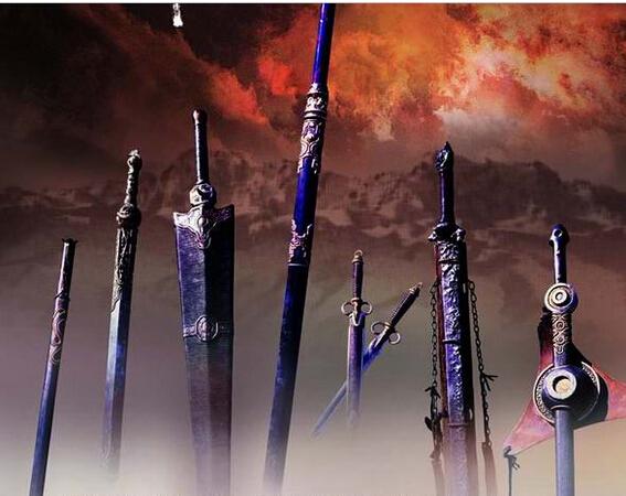 《七剑下天山》中那七把剑的详细资料以及图片