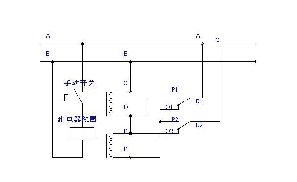 继电器电路连接设计