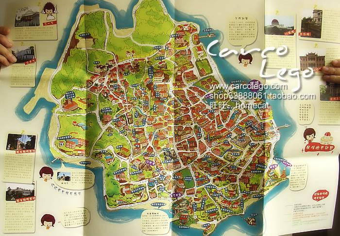 学校地图手绘简单