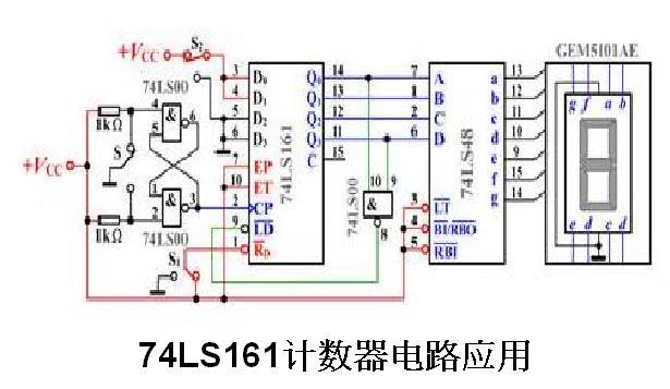 利用74ls161设计八进制计数器,求大神帮忙