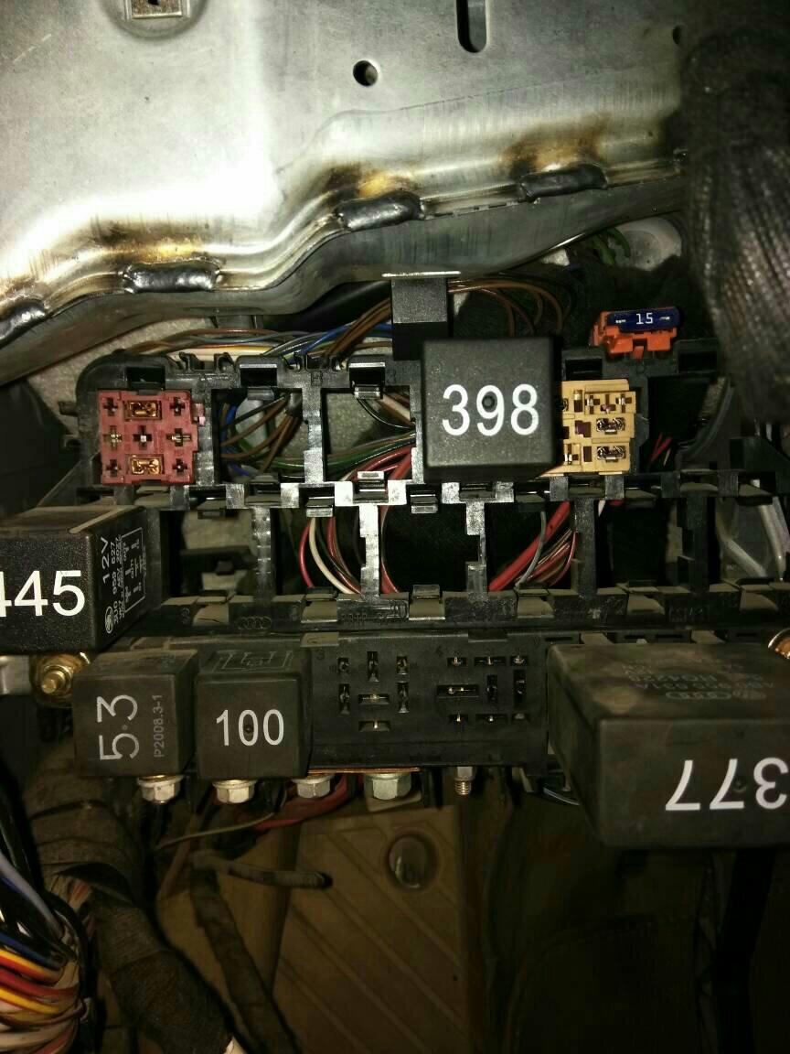 大众帕萨特,这几个继电器,分别控制什么?
