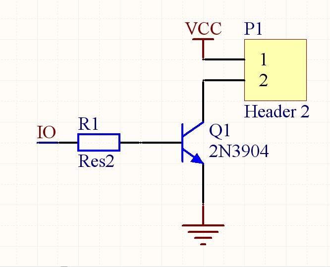 2,使用12v或者24v驱动线包的继电器,需要三极管,用9012或者9013就行.