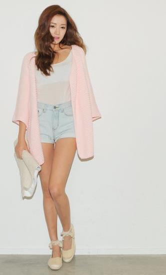 这个韩国女模特叫什么名字?