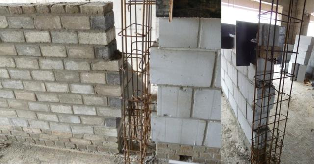 拓展内容: 二次结构注意要点之构造柱: 需要设置构造柱的部位: 1) 不