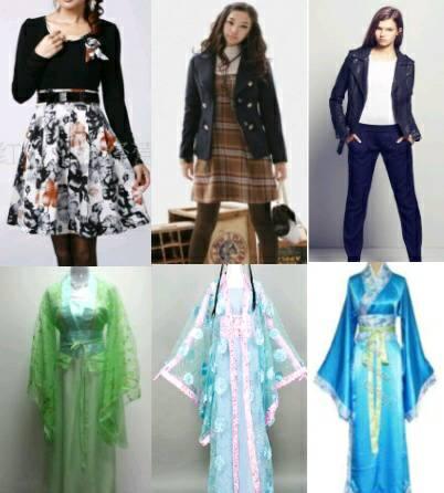 服装�:-+yl>[�~K�>K�_现代服装和古代服装哪个好看?
