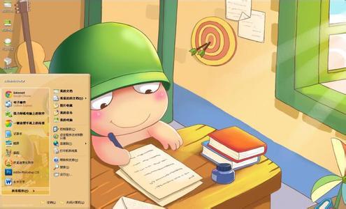 关于努力奋斗勤奋学习的卡通图片