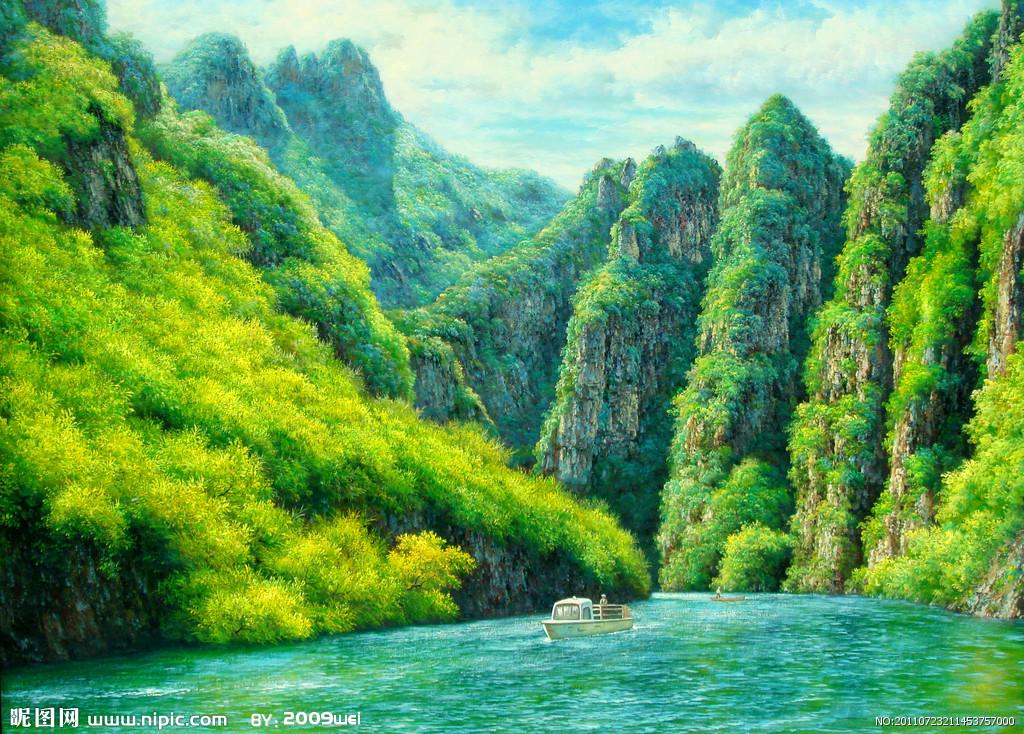 壁纸 风景 山水 桌面 1024_734