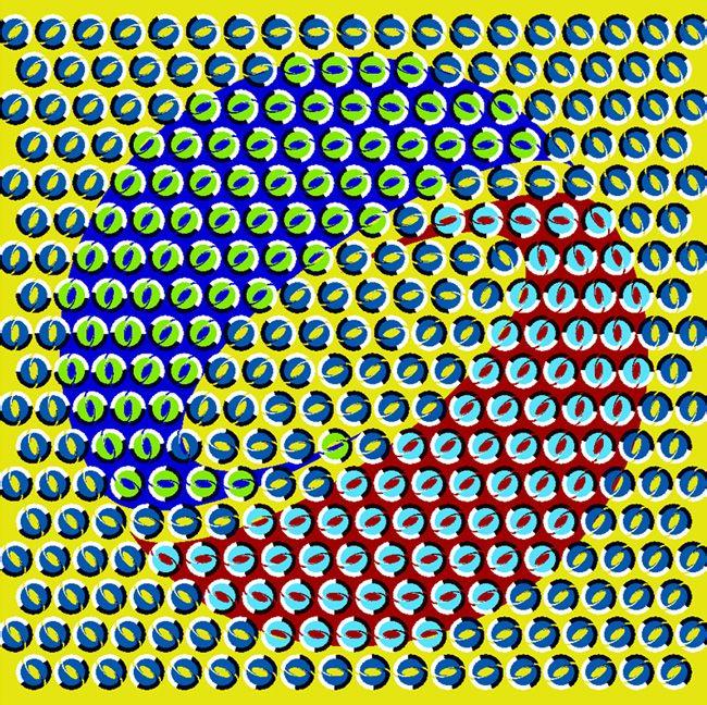 这明明是一幅静态图片,为什么我们却能看出动态的效果图片