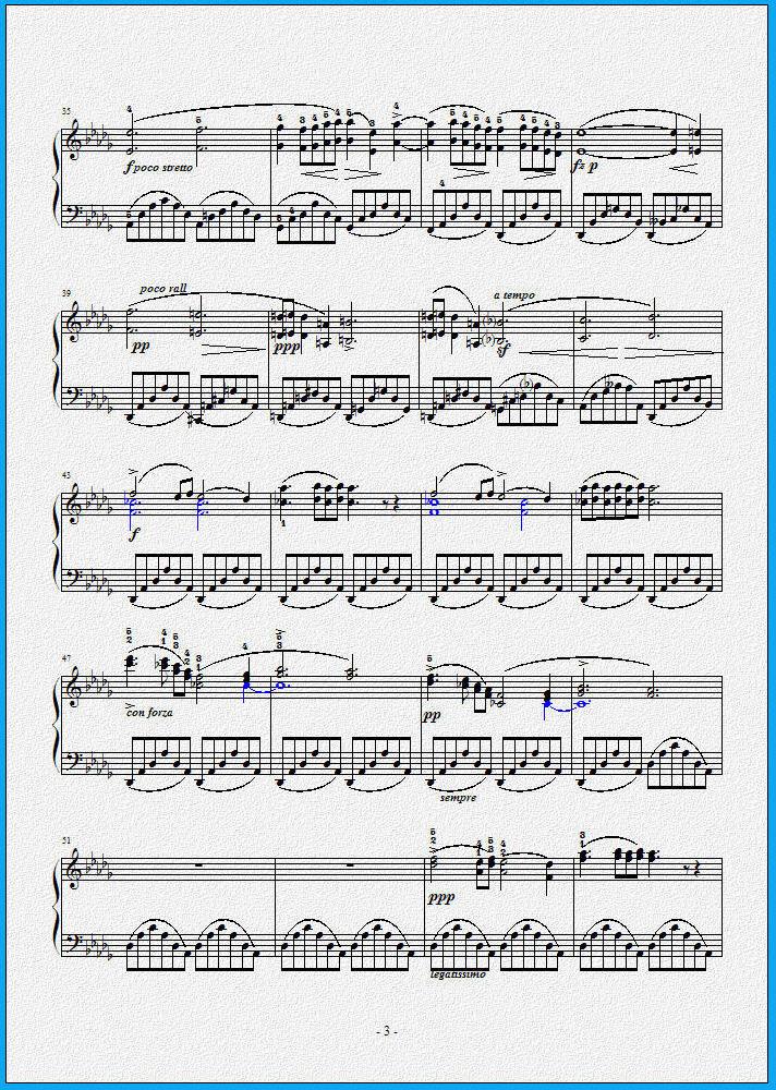 肖邦 夜曲 op.9 no.1 钢琴谱
