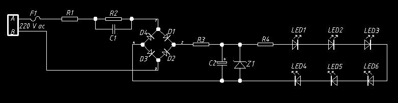 给你一个电路图zl稳压管用2w5v,c1采用2微法400v无极电容.