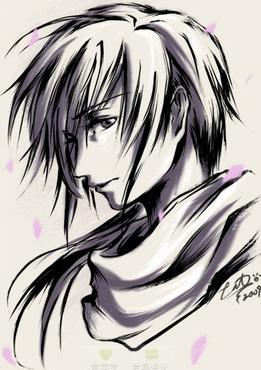 求可爱 动漫 男生 黑白 手绘头像 =3= 求萌照 越多越好