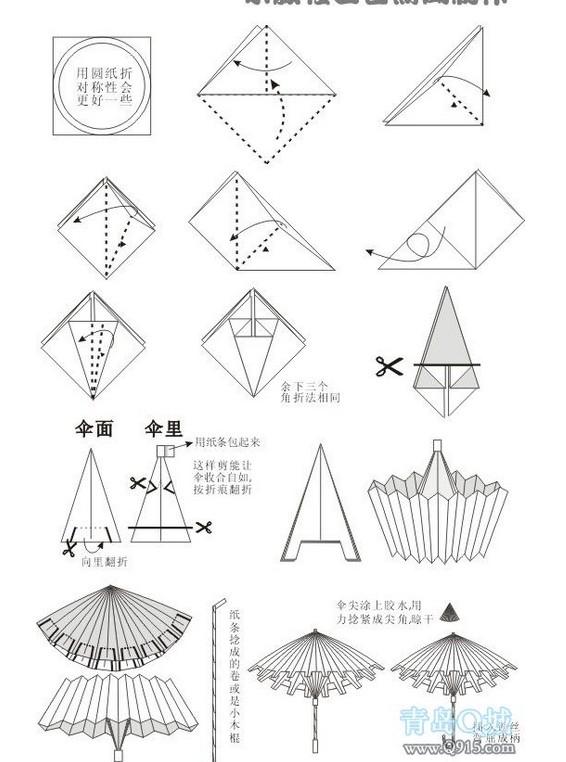 雨伞图片简笔画