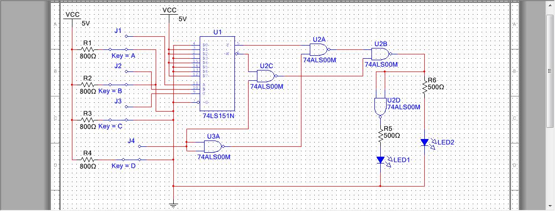 用8选1数据选择器74ls151设计四位奇偶校验电路怎么弄