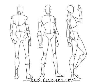 手绘怎么练习人体⊙_⊙或者谁给我几张图我去临摹,或者是谁愿意指导我