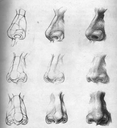 动漫人物鼻子阴影怎么画