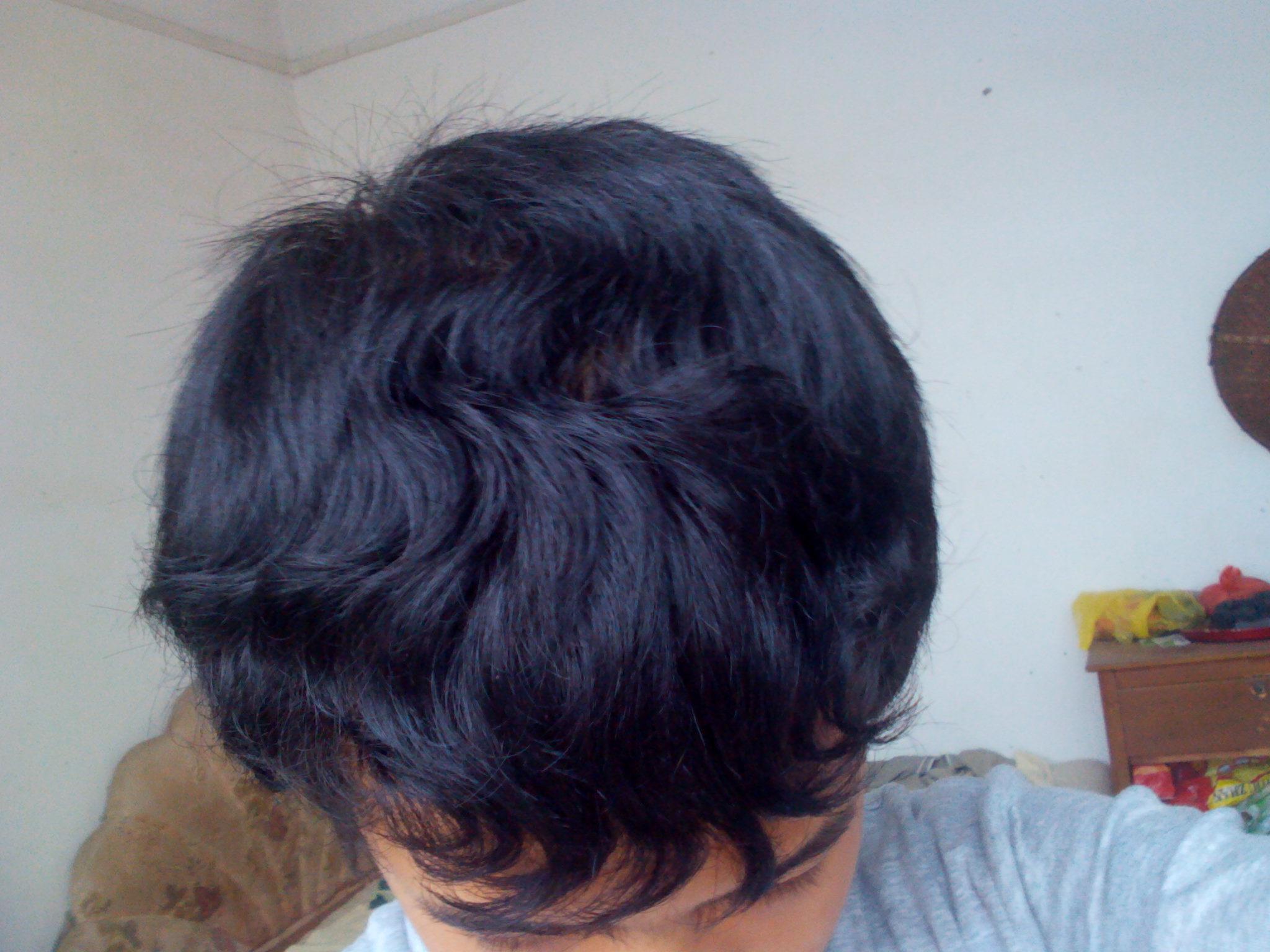 头发硬短头发留头发发型技巧 怎样把短发也理的很硬汉