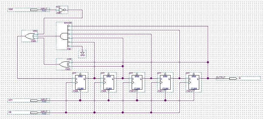 画出n=5的m序列发生器的原理,其码序列周期是多少