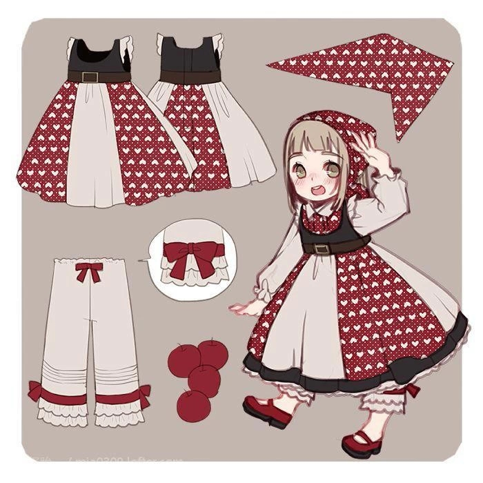 动漫服装设计图