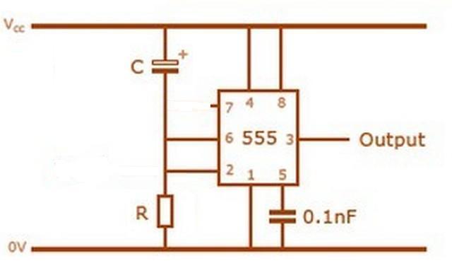 求助我要用ne555做一个延时电路,要求线路接通后开始计时,3秒后电路