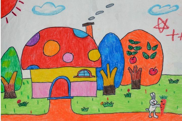 儿童画画简单漂亮图片大全_儿童画画简单漂亮图片