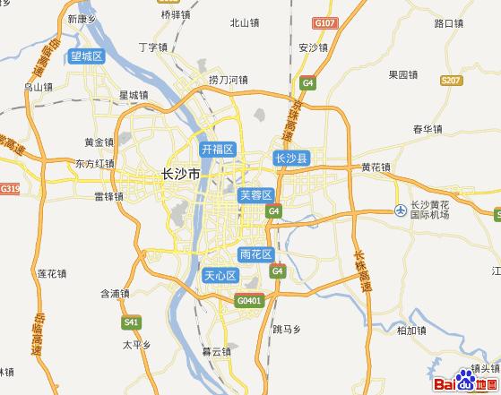 长沙市区分哪几个区域地图_百度知道