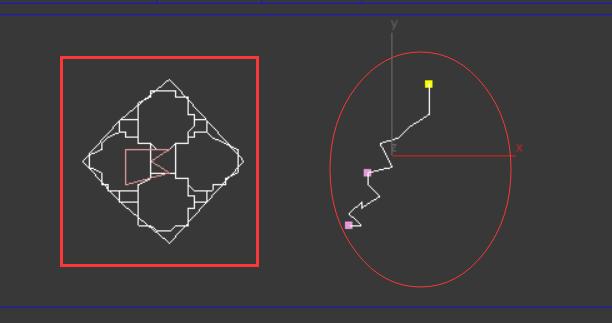 3D画线的工具弯曲的是显示的,画完后时候直的cad替换又是文字图片