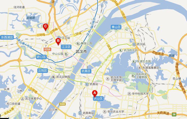 武汉洪山区白沙洲大道有马荣幼儿园吗