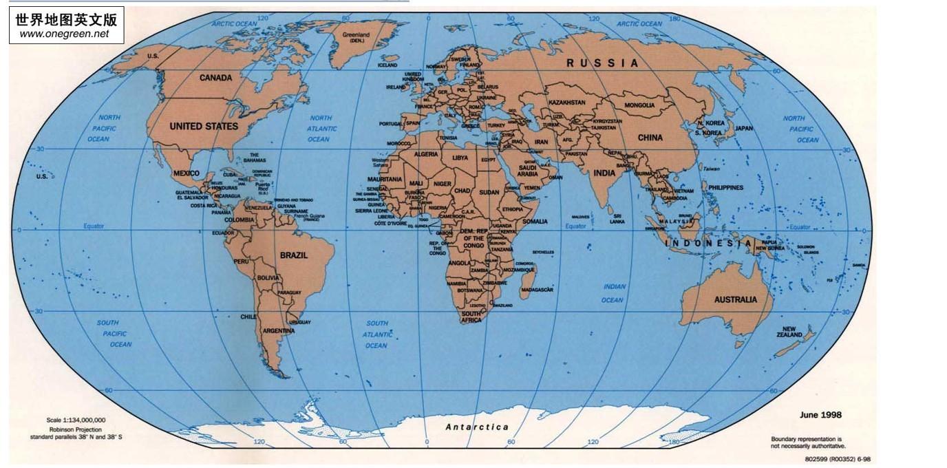 【求一张】世界地图
