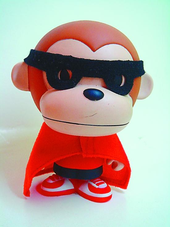 求一张带墨镜的猴子图片,卡通的!图片
