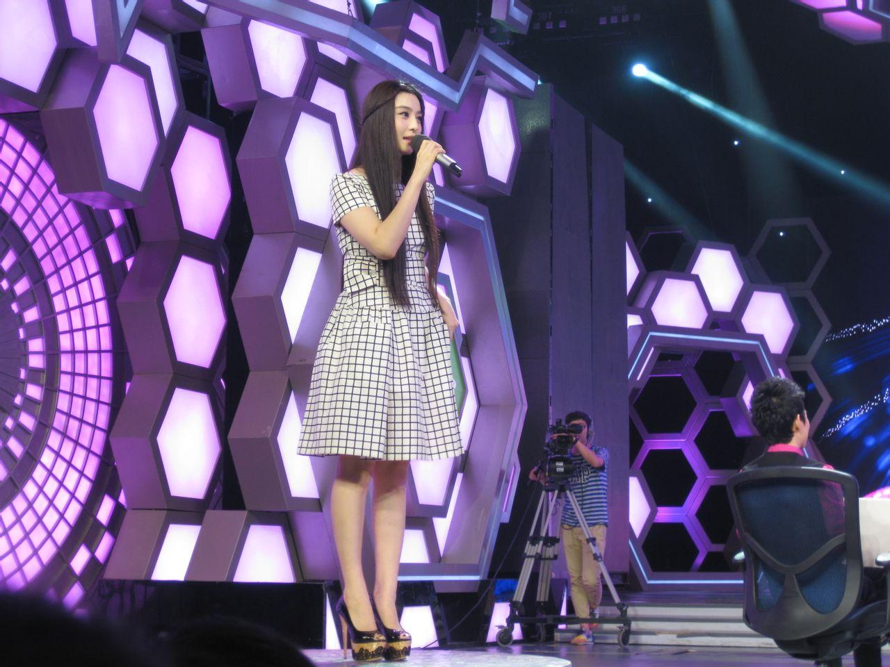 2012年9月15日,范冰冰在快乐大本营中穿的连衣裙是什么牌子的呢?