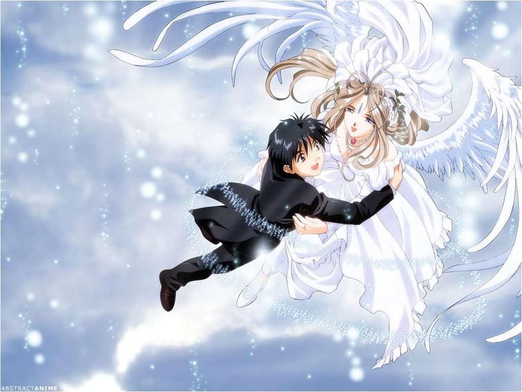你去搜一搜《我的女神》《天使禁猎区》《天降之物》吧,图片挺多的你