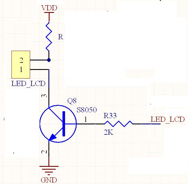 led背光电路,加了限流电阻后led不够亮,想减小限流电阻增大led电压但