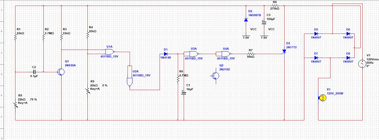 实现声控灯(光)同时功能!电路图自己连完了,不过不能