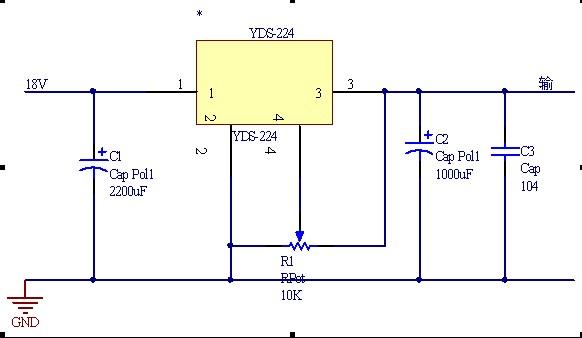 yds稳压模块用单片机来控制,我的想法是用数字电位器