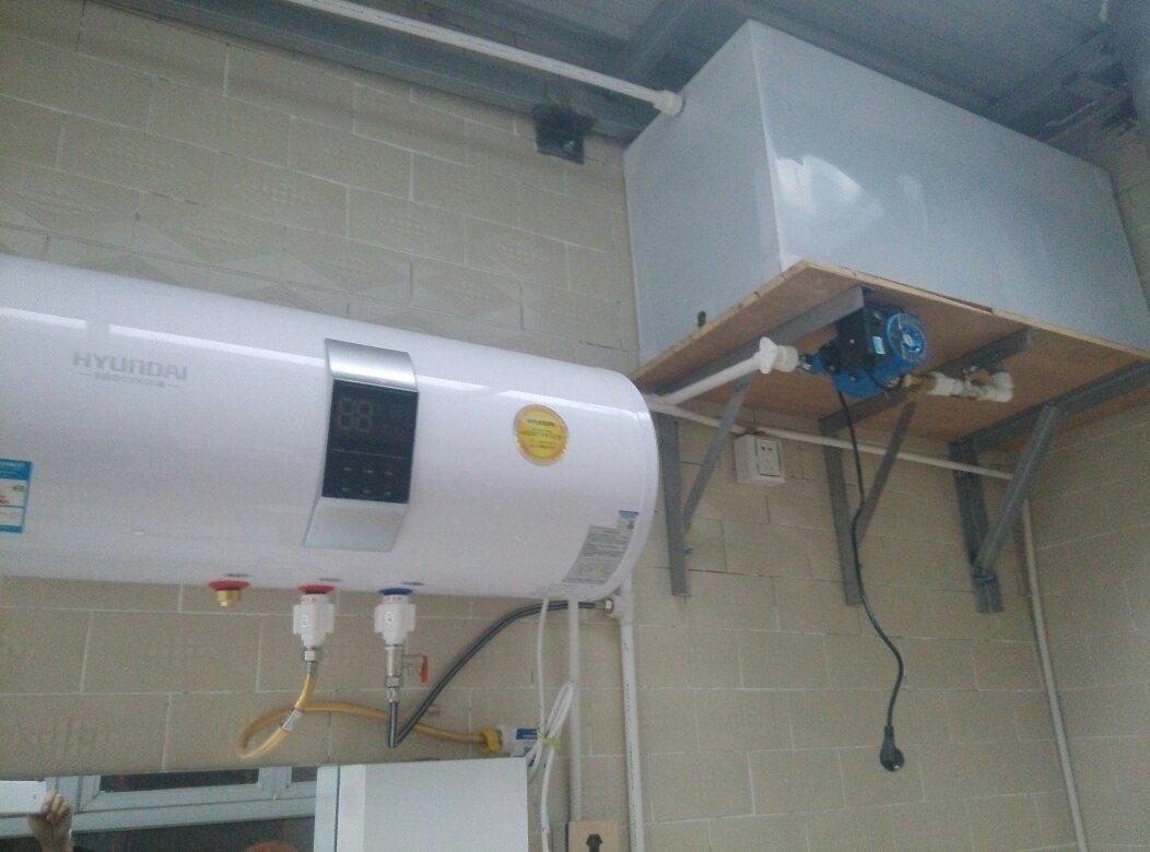 这样接热水器,自动水泵不转呢?开热水阀出不水呢!有懂图片