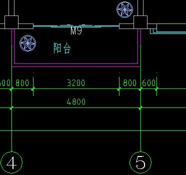 5m,跨度4.8m的挑梁式阳台怎么进行结构计算?