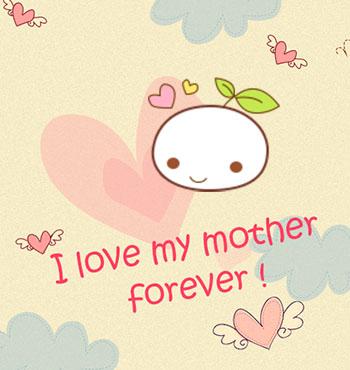 妈妈的图片卡通图片