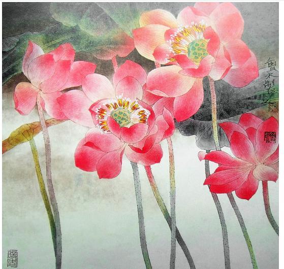 求花的工笔画 简笔画 铅笔画,只要是画花的图片都要,不过不要单调的