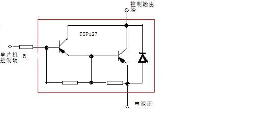 迷惑了 pnp三极管怎么做开关电路 貌似基极和发射极没