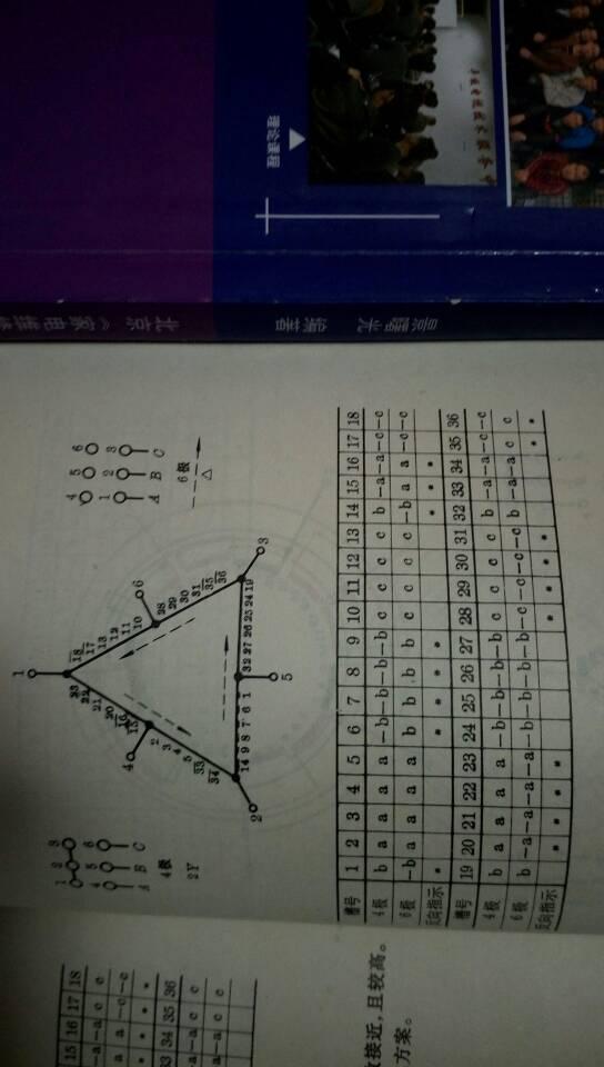双速36槽4一6极电机接线图