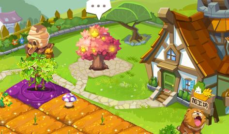 qq农场里的水仙花_为什么qq农场里2.0功能蜂巢那些图标不在外面?