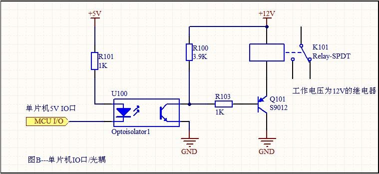 单片机电路问题求救 原理图如图 为什么明明io口给的是高电平 一旦图片