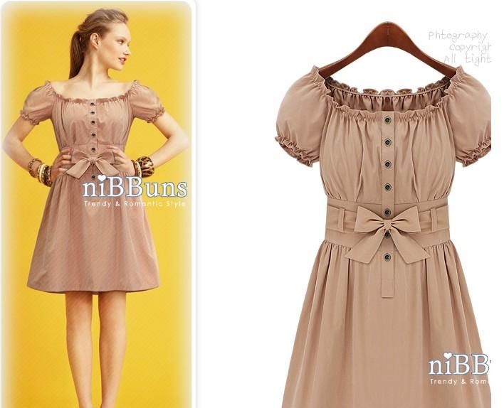 在淘宝看到这种裙子,很喜欢这种领子和款式类型的 想要再找找 请问要图片